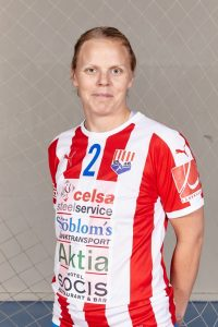#2 - Pamela Degerman, BK-46. Photo: nsm.finnhandball.net