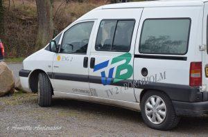 TV2 Bornholm var på plats liksom lokalpressen. Handboll är STORT i Danmark. Foto: Annette Andersson.