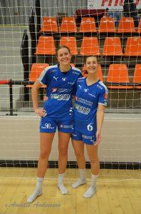 Johanna Westberg och Clara Monti Danielsson. Foto: Annette Andersson