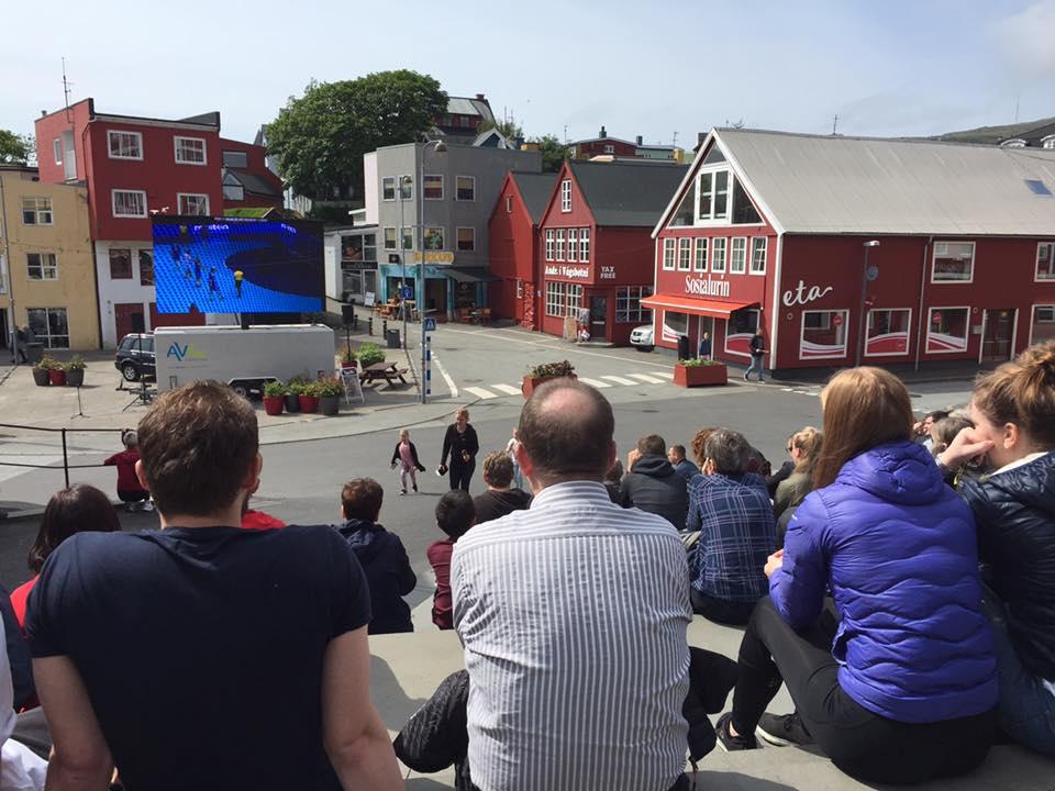 Handbollsfeber på Färöarna - U21-VM visas på storbildsskärm ... de6d5626a96aa