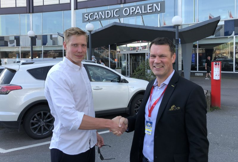 Larsson klar for savehof