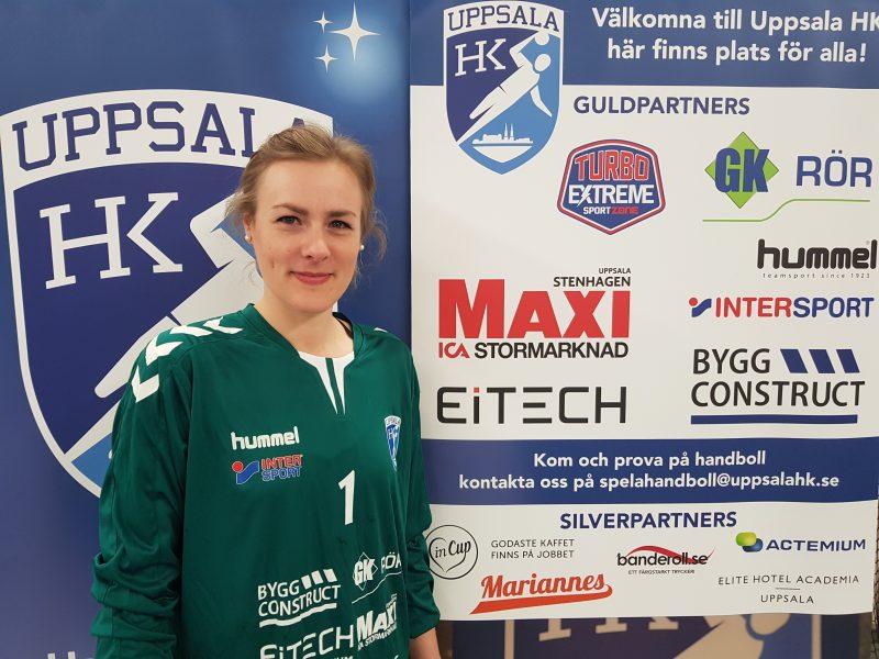 Sissi Karlsson klar för Uppsala HK